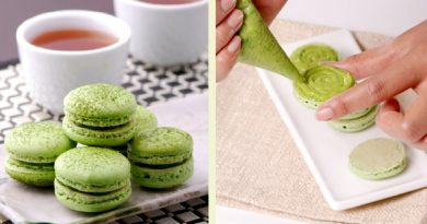 Green Tea Macaron