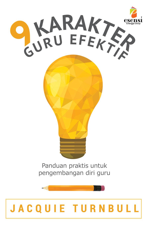 Cover Buku 9 Karakter Guru Efektif