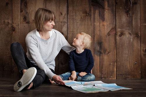 orangtua mendidik anak