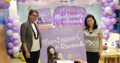 Peluncuran Buku Montessori di Rumah: 55 Kegiatan Stimulasi Bayi