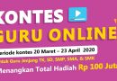 Kontes Guru Online Berhadiah Jutaan Rupiah